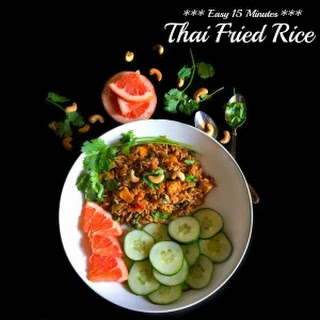 Easy 15 Minutes Thai Fried Rice
