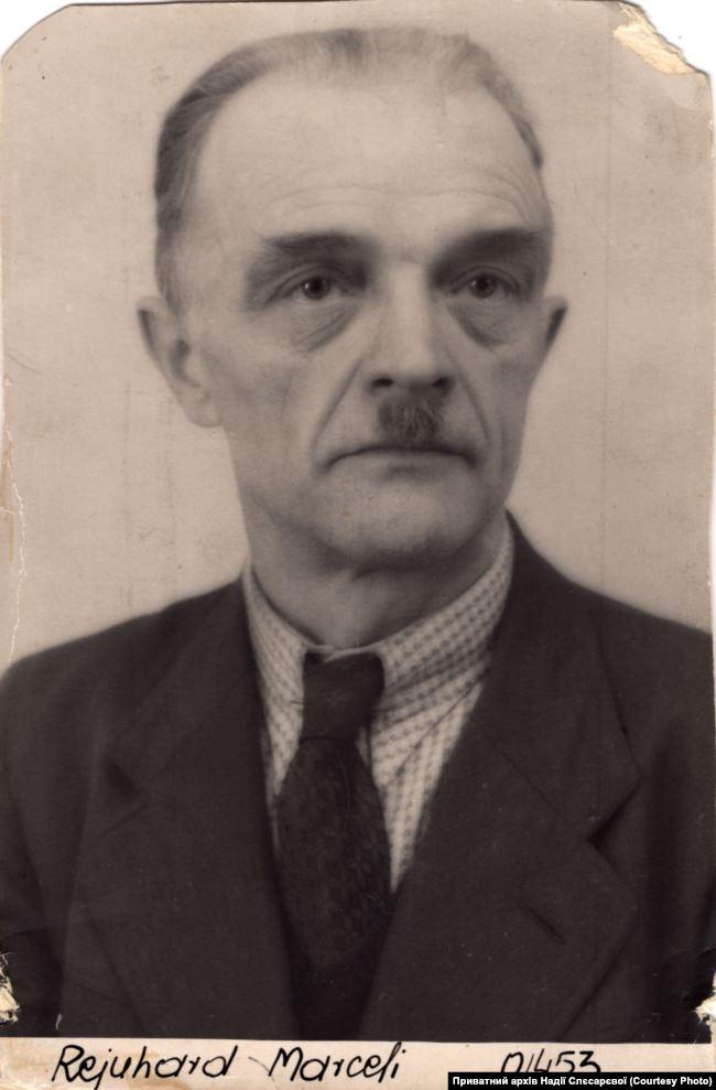 Марцель Рейнгард, дядько і прийомний батько. Джерело: Приватний архів Надії Слєсарєвої