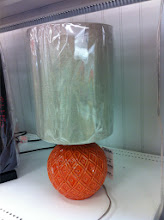 Photo: I love this orange lamp! If only tailgates needed lamps :o)