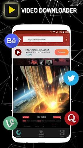 Vidoder Downloader Video HD 4.0.0 screenshots 1