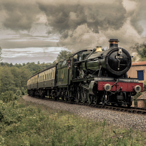 Kinlet Hall by Parker Lord - Transportation Trains ( somerset, railway, engine, locomotive, steam train, lord parker photography, train )