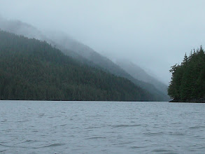 Photo: Heading north up Grenville Channel.