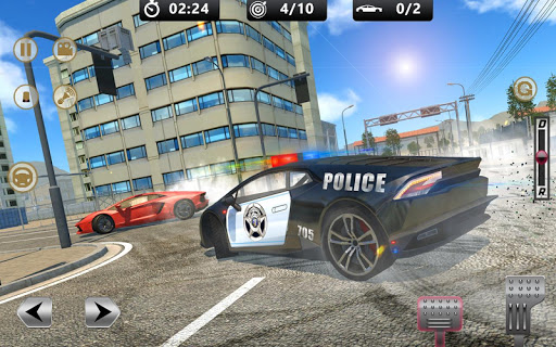 Cop Chase - Police Car Drifting Simulator 2018  screenshots 1