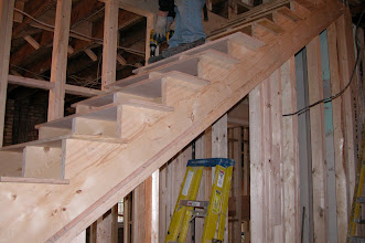 Photo: January 2005 - Month 17: New stair to 3rd floor
