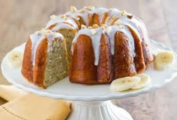 Banana Ring Cake Recipe