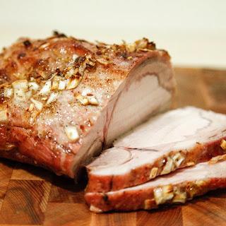 Maple Glazed Pork.