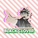 Stickers Black Clover For WhatsApp icon