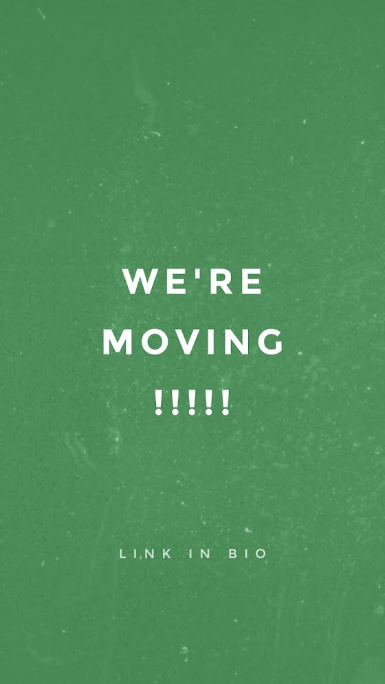 We're Moving - Facebook Story Template