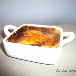 Delightful Creme Brulee with Daim Chocolates