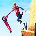 Impossible Scooty Stunt Mega Ramp Bike Racing Game icon
