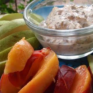 Healthy Peanut Butter Fruit Dip.