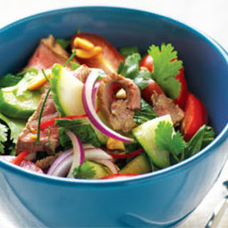 Warm Thai Beef Salad Recipe