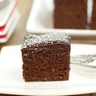 Protein Chocolate Cake.