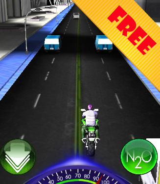 Moto Racing Traffic City