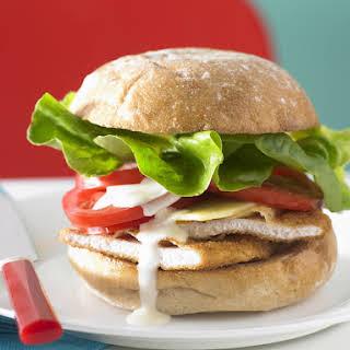 Chicken Cutlet Sandwich.
