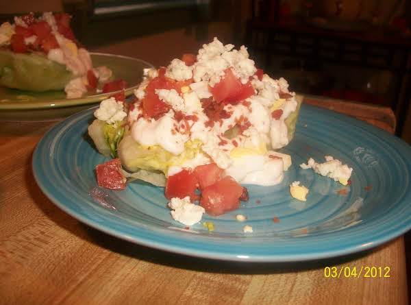 Iceberg Wedge Salad Recipe