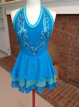 Photo: To buy ( MBCan- SAMBA ) reference name of costume, size, qty needed and copy/past photo to Pam@Act2DanceCostumes.com  $ 125.00  qty (1) Sizes: (1) Adult Small  Custom Made! SAMBA -bright colors of this dress give the party flavor of this dance. Triple layer chiffon skirt on a polyspandex leotard, size small. Color turquoise blue with Aqua trim Appliques-turquoise blue with glitter-are removable Swarovski crystals-neck and back are argent (CAL), skirt- clear crystal   7 day returns same condition! Paypal/Credit/Western Union accepted. US shipping $10/$5 additional. Contact for world wide shipping quote. Thanks!