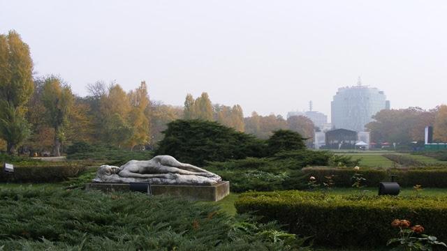 Statues in Herastrau Park Bucharest