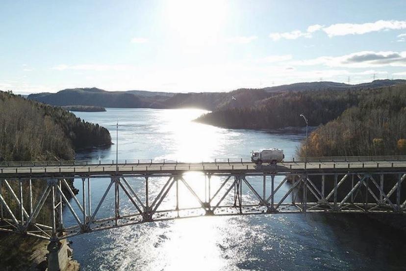 Live and Give on bridge