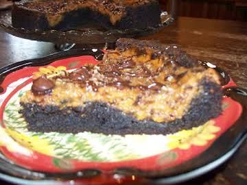 Three Delights Brownie Pumpkin Pie