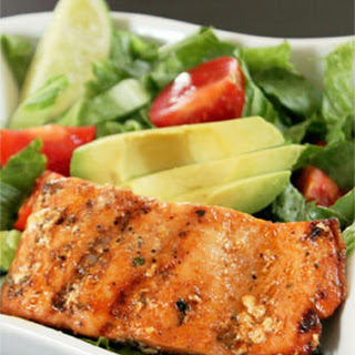 Citrus Marinated Grilled Salmon