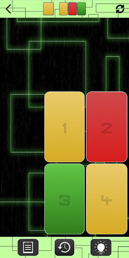 Color In Button - Puzzle with color buttons android2mod screenshots 1