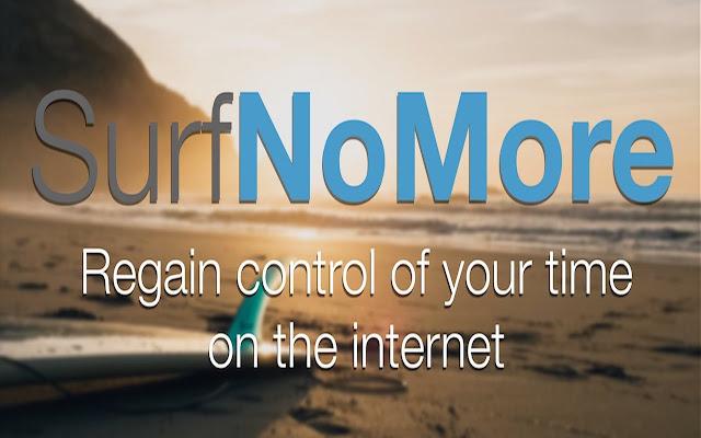 Surf No More