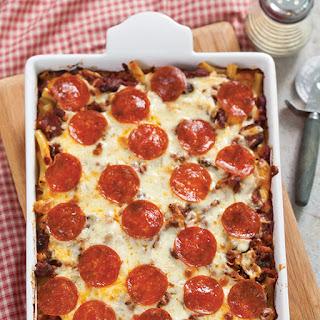 Pizza Casserole.