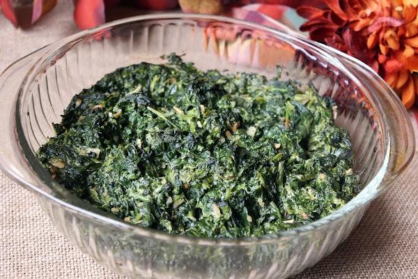 Sensational Spinach Recipe