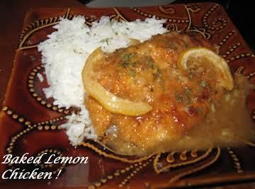 Baked Lemon Chicken!