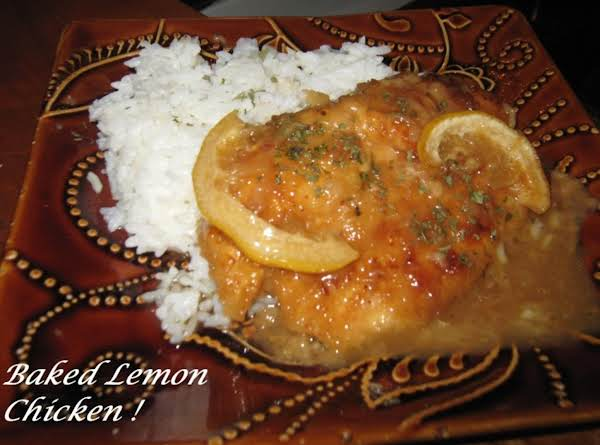 Baked Lemon Chicken! Recipe