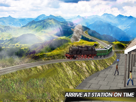 Tourist Train Hill Driving 1.1 screenshot 1660466