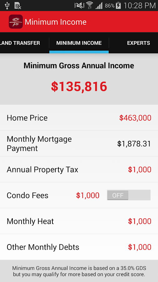 Tim Lacroix - Canada Mortgage- screenshot