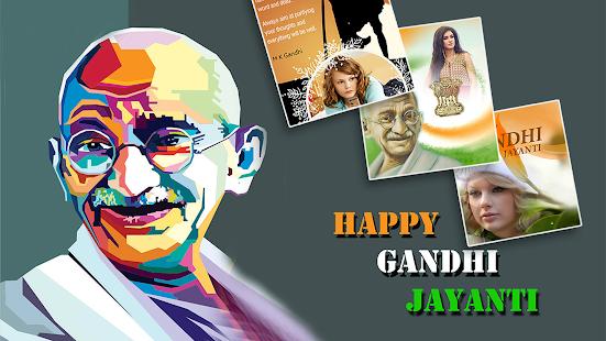 Gandhiji Photo Frames 2017 - náhled