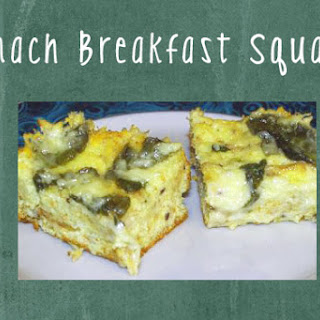 Spinach Breakfast Squares