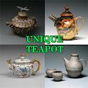 Unique Teapot Design icon