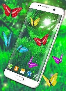 Butterflies Forest Wallpaper - náhled
