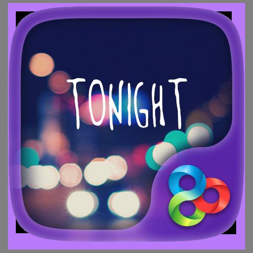 Tonight GO Launcher Theme