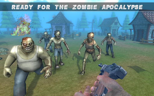Dead Target Army Zombie Shooting Games: FPS Sniper 1.0 de.gamequotes.net 4