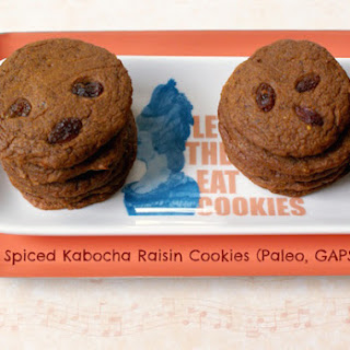 Kabocha Raisin Cookies (Paleo, GAPS, SCD)