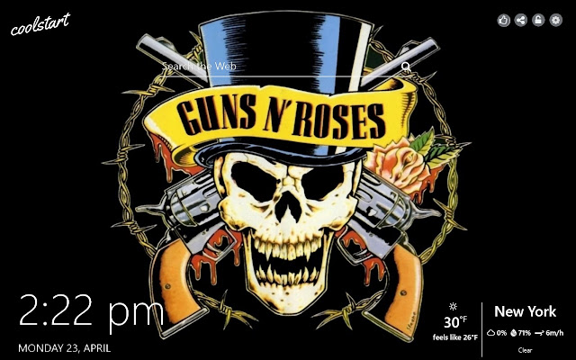 Guns N Roses HD Wallpapers Hard Rock Theme