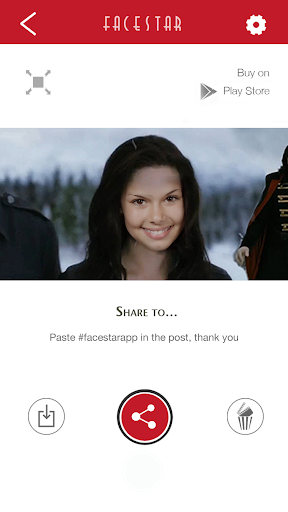 Screenshot for FacestarApp in Hong Kong Play Store