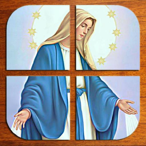 解谜の聖母マリアのジグソーパズル LOGO-記事Game