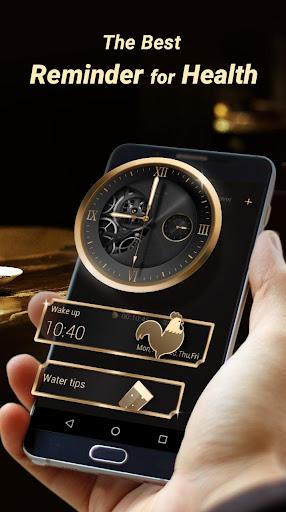 GO Clock - Alarm Clock & Theme Screenshot