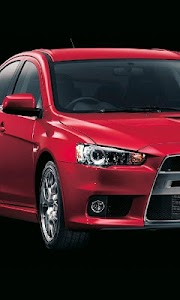 Themes Mitsubishi Lancer EvolX screenshot 1