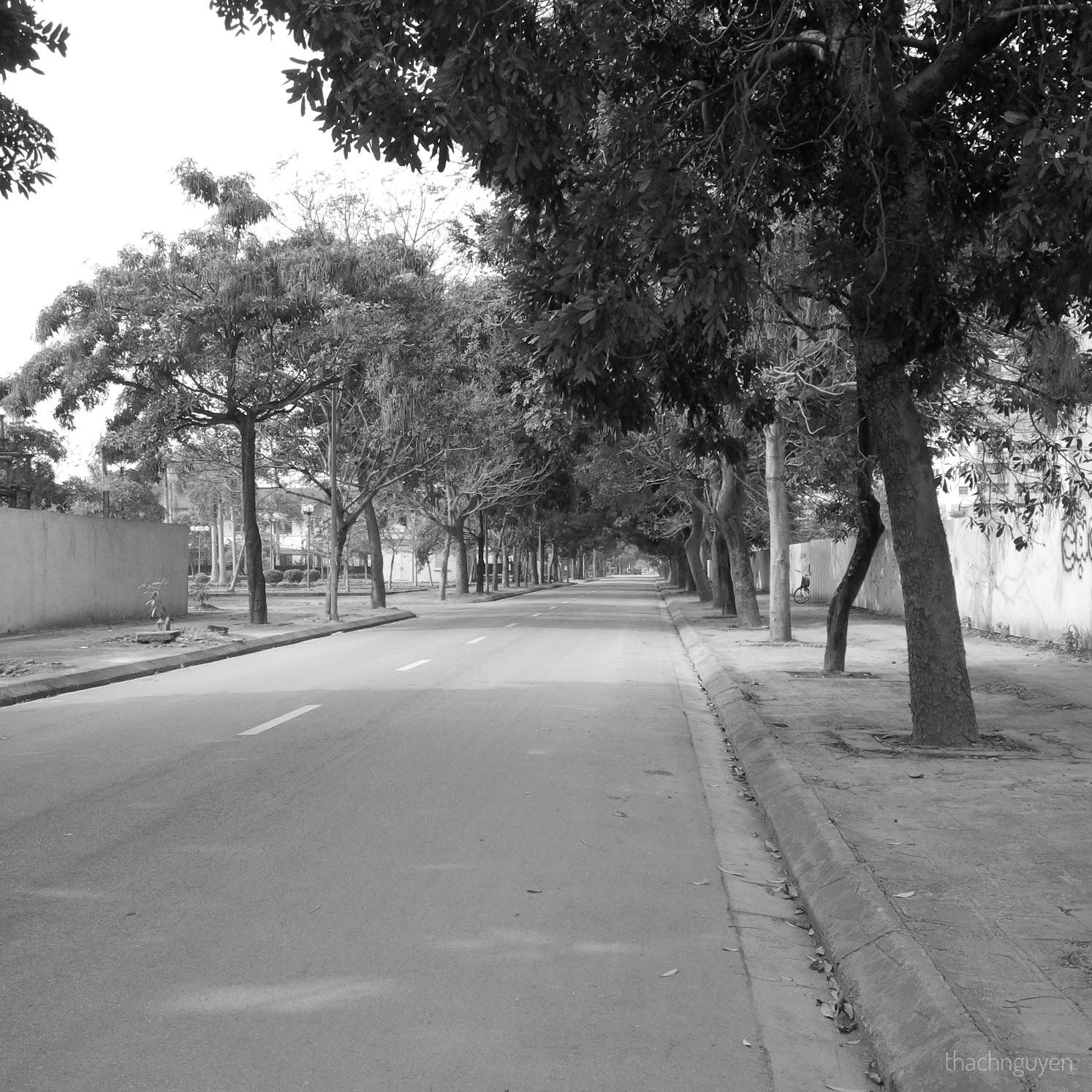 đường vắng