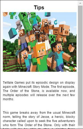 Guide Minecraft: Story Mode