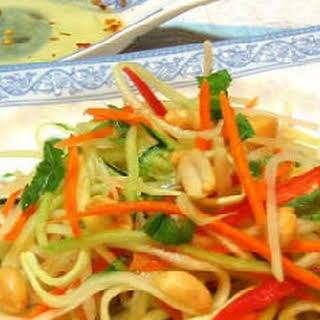 Khmer Green Papaya Salad.
