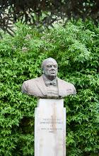 Photo: Winston Churchill statue in Valletta
