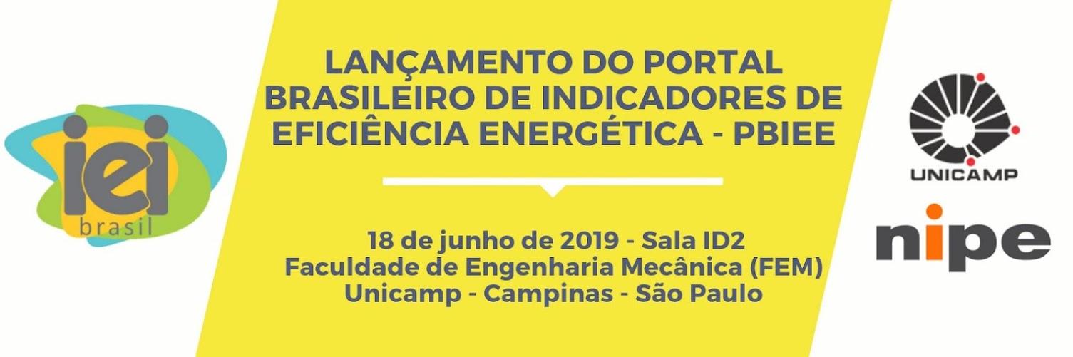 Lançamento do Portal Brasileiro de Indicadores de Eficiência Energética (PBIEE)